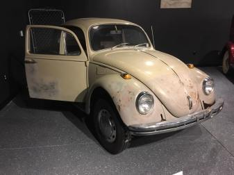 I was creeped out just looking at Ted Bundy's car.